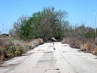 USA - Hext OK - Abandoned Route 66 Alignment (20 Apr 2009)